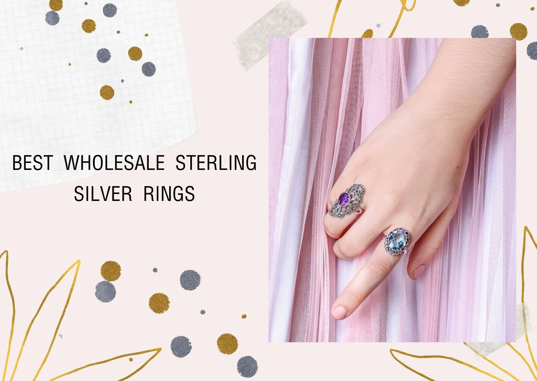 Best Wholesale Sterling Silver Rings