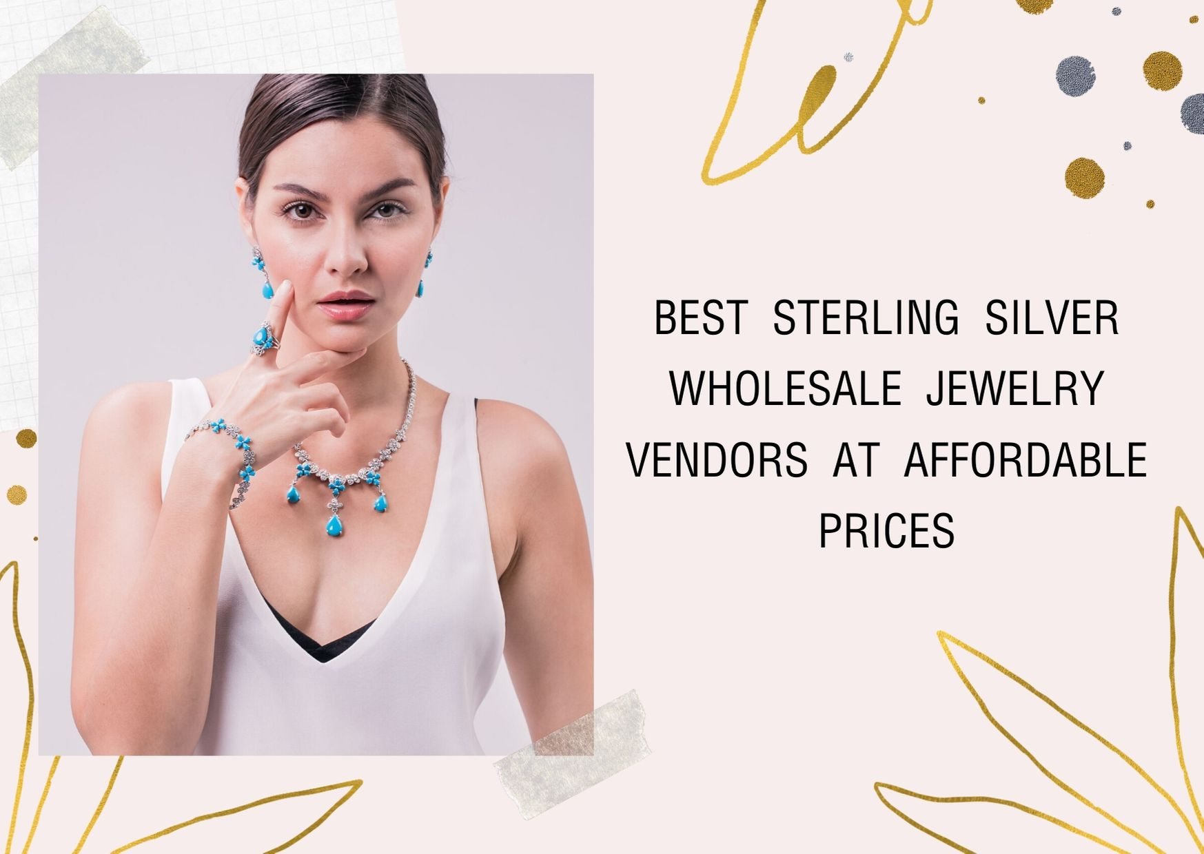 Best Sterling Silver wholesale jewelry vendors at Affordable Prices